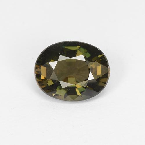 Medium Brown Kornerupin Edelstein - 1.4ct Oval facettiert (ID: 453091)