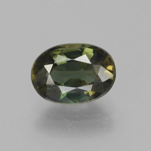 thumb image of 1.9ct Oval Facet Brownish Green Kornerupine (ID: 453166)