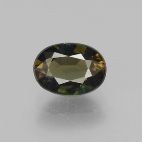 Medium Brown Kornerupin Edelstein - 1.7ct Oval facettiert (ID: 453167)