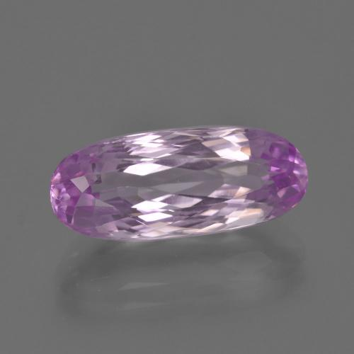 7.04 ct Oval Facet Pink Kunzite Gemstone 17.73 mm x 7.4 mm (Product ID: 409056)