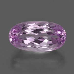 thumb image of 7.2ct Oval Facet Pink Kunzite (ID: 409127)
