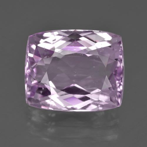 11.27 ct Cushion-Cut Pink Kunzite Gemstone 14.16 mm x 11.7 mm (Product ID: 409930)