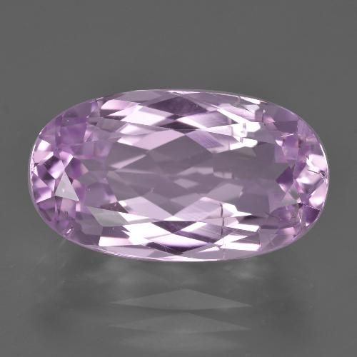 Lilac Kunzite Gem - 10.1ct Oval Facet (ID: 409936)