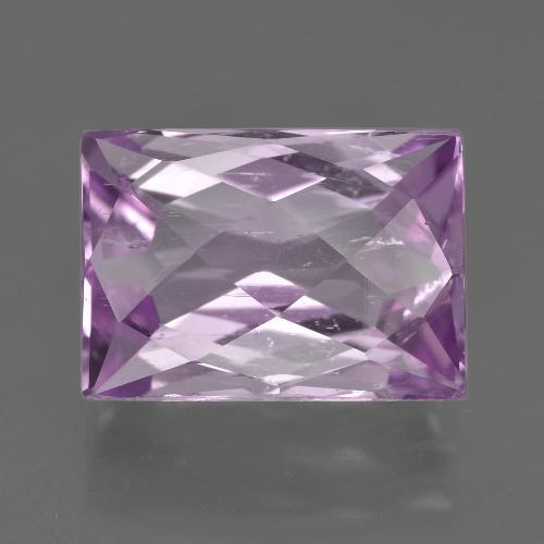 11.06 ct Baguette Checkerboard Pink Kunzite Gemstone 14.79 mm x 10.5 mm (Product ID: 410166)