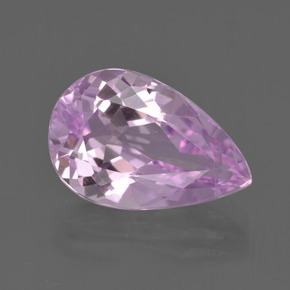 5.64 ct Pear Facet Pink Kunzite Gemstone 14.53 mm x 9.5 mm (Product ID: 413774)