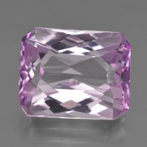 Pinkish Violet Purple Kunzite Gem - 14.7ct Octagon / Scissor Cut (ID: 422267)