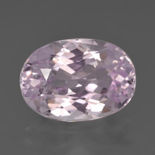 Pink Kunzite Gem - 7.7ct Oval Facet (ID: 427052)