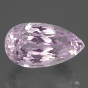 14.4ct Pear Facet Medium-Light Pink Kunzite Gem (ID: 427406)