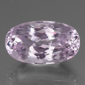 thumb image of 28.6ct Oval Facet Pink Kunzite (ID: 427640)
