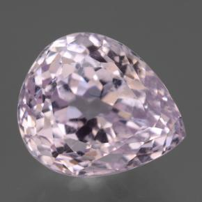 15.9ct Pear Facet Light Pink Kunzite Gem (ID: 434176)