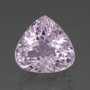 20.9ct Pear Facet Light Royal Purple Pink Kunzite Gem (ID: 437945)