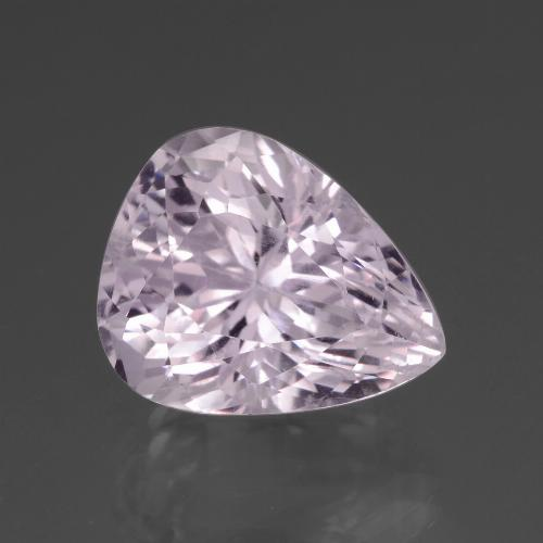 20.5ct Pear Facet Light Cherry Pink Kunzite Gem (ID: 437953)