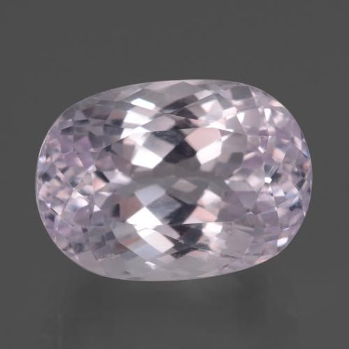 Pink Kunzite Gem - 16.1ct Oval Facet (ID: 438047)