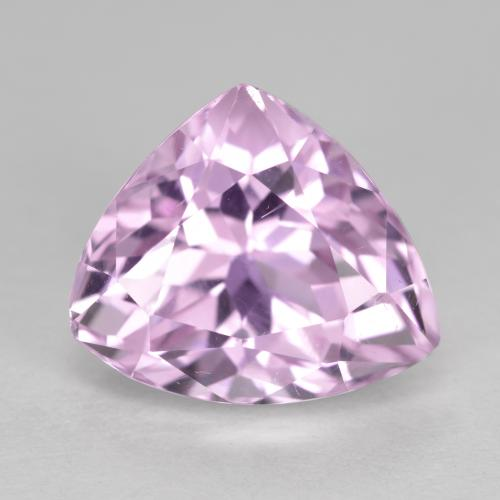 Medium Pink Kunzite Gem - 7.7ct Trillion Facet (ID: 441162)
