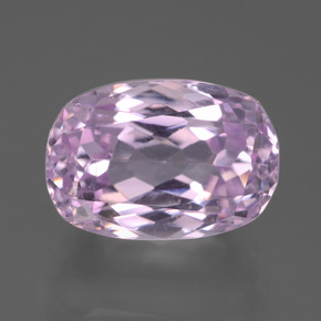 11.76 ct Oval Facet Pink Kunzite Gemstone 14.53 mm x 10.1 mm (Product ID: 441217)