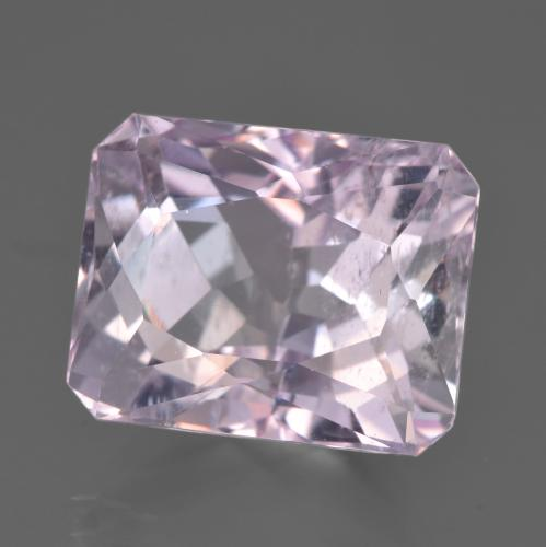 Very Light Purple Pink Kunzita Gema - 16.2ct Corte Octágon / Forma de Tijera (ID: 453469)