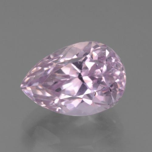 7.3ct Pear Facet Purple Pink Kunzite Gem (ID: 453539)