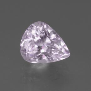 3.2ct Pear Facet Very Light Pink Tone Kunzite Gem (ID: 453542)
