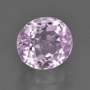 Royal Purple Pink Kunzita Gema - 5.6ct Forma ovalada (ID: 453613)