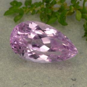 thumb image of 8.5ct Pear Facet Pink Kunzite (ID: 481740)