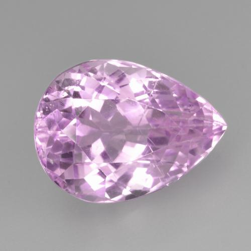 8.3ct Pear Facet Purple Pink Kunzite Gem (ID: 482031)