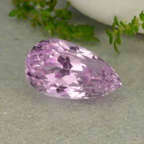 thumb image of 11.3ct Pear Facet Pink Kunzite (ID: 482039)