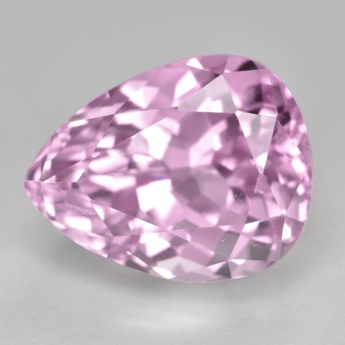 16.2ct Pear Facet Medium Pink Kunzite Gem (ID: 482139)