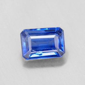 Buy 1.29 ct Blue Kyanite 7.14 mm x 5.1 mm from GemSelect (Product ID: 290483)