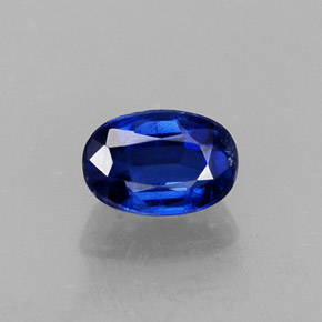 Buy 0.78 ct Blue Kyanite 6.15 mm x 4.2 mm from GemSelect (Product ID: 308373)