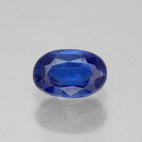 Buy 0.72 ct Blue Kyanite 6.18 mm x 4.1 mm from GemSelect (Product ID: 308376)