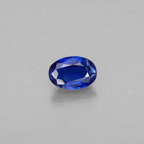 Buy 0.68 ct Deep Blue Kyanite 6.00 mm x 4.1 mm from GemSelect (Product ID: 311912)