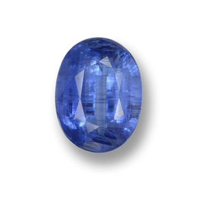 Buy 1.42 ct Blue Kyanite 8.00 mm x 5.6 mm from GemSelect (Product ID: 459199)
