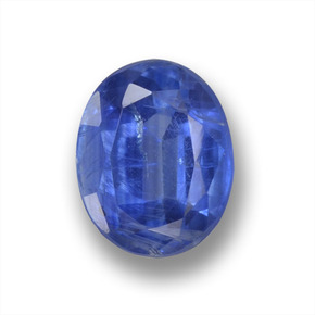1.9ct Oval Facet Blue Kyanite Gem (ID: 459251)