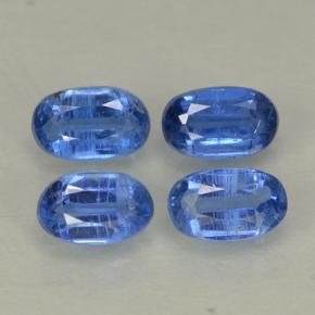 Blue Kyanite Gem - 0.4ct Oval Facet (ID: 499561)
