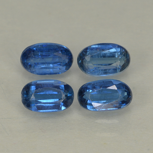 Blue Kyanite Gem - 0.4ct Oval Facet (ID: 499562)
