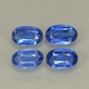 Blue Kyanite Gem - 0.4ct Oval Facet (ID: 499566)