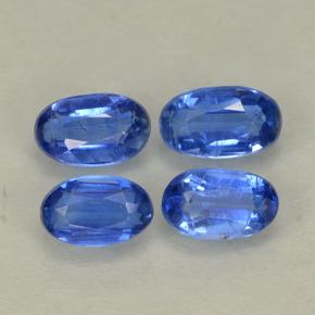 Blue Kyanite Gem - 0.3ct Oval Facet (ID: 499569)