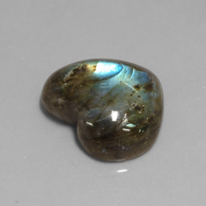 Buy 11.69 ct Multicolor Labradorite 17.86 mm x 15.3 mm from GemSelect (Product ID: 218252)