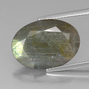 Buy 9.58 ct Multicolor Labradorite 18.47 mm x 13.2 mm from GemSelect (Product ID: 324879)
