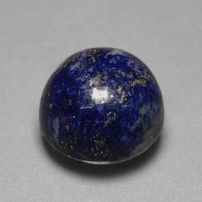 lapis lazuli 16 carat round from afghanistan natural and untreated gemstone. Black Bedroom Furniture Sets. Home Design Ideas