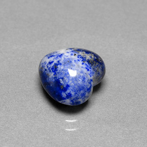3 6 carat heart natural and untreated lapis lazuli gemstone. Black Bedroom Furniture Sets. Home Design Ideas