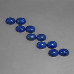 Buy 13.64 ct Royal Blue Lapis Lazuli 8.10 mm x 6.1 mm from GemSelect (Product ID: 311272)
