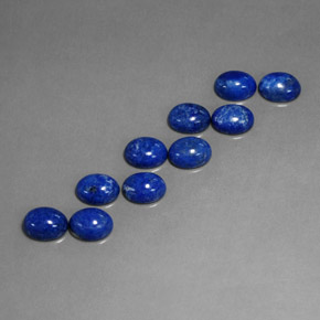 Buy 13.37ct Royal Blue Lapis Lazuli 8.09mm x 6.05mm from GemSelect (Product ID: 311275)