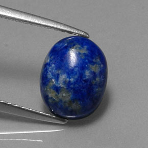 Buy 2.92 ct Royal Blue Lapis Lazuli 10.02 mm x 8.1 mm from GemSelect (Product ID: 321333)
