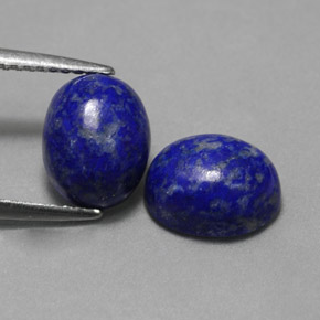 Buy 4.67 ct Royal Blue Lapis Lazuli 8.94 mm x 7.1 mm from GemSelect (Product ID: 325955)
