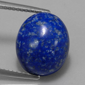 7 5 carat royal blue lapis lazuli gem from afghanistan natural and untreated. Black Bedroom Furniture Sets. Home Design Ideas