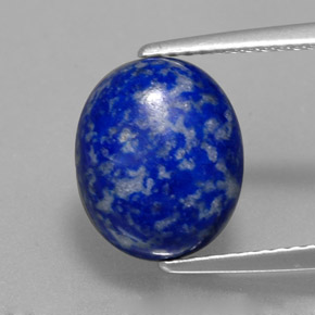 lapis lazuli 4 carat oval from afghanistan natural and untreated gemstone. Black Bedroom Furniture Sets. Home Design Ideas