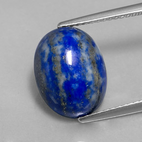 6 6 carat royal blue lapis lazuli gem from afghanistan natural and untreated. Black Bedroom Furniture Sets. Home Design Ideas