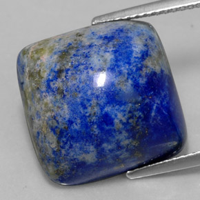 ct square cabochon royal blue lapis lazuli 15 5 x 15 3 mm. Black Bedroom Furniture Sets. Home Design Ideas