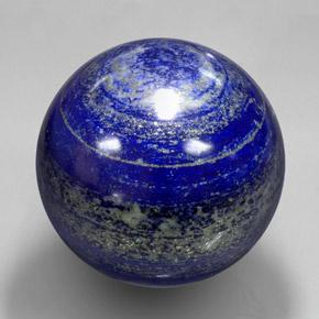 Royal Blue Lapis Lazuli Gem - 3000ct Spherical (ID: 337538)